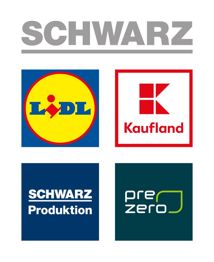 Logos der Schwarz-Gruppe